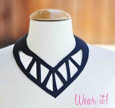diy black necklace images 40 diy collar necklace ideas that will dazzle any audience cool jpg