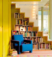 a custom bookcase under stairs how to