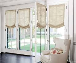 French Door Shades And Blinds - awesome roman shades on french doors and roman shades blinds for