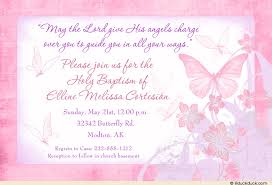 butterfly invitations kisses baptism invitations beautiful script photo