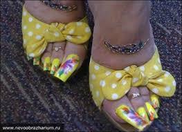 toenail art is the new nail art surfingbird проводи время с