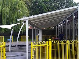 Steel Canopy Frame by Our Products Arccan