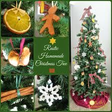 beth u0027s lemonade rustic homemade christmas tree homemade dried