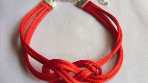 lucky red bracelet images How to make a lucky infinity bracelet under 5 minutes jpg