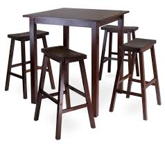 Kitchen Table Tall by Kitchen Square High Pub Brown Tall Kitchen Table With Stools