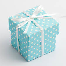 polka dot boxes blue polka dot spot square favour boxes set of 10 favour fairy