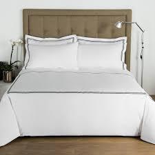 hotel classic sheet set white black frette