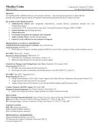 Telemetry Nurse Resume Sample by Monika Costa Resume