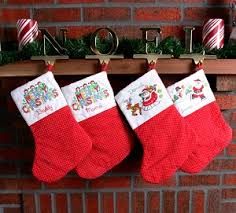 Christmas Stocking Decorations Mantel Christmas Decorating Ideas Dream House Experience