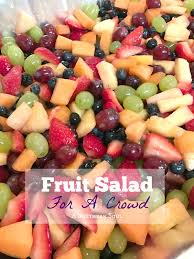 fruit salad for a crowd a southern soul