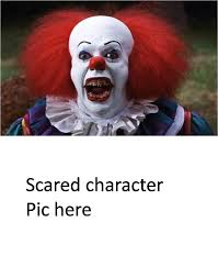 Blank Meme Pictures - pennywise scared who blank meme by xxphilipshow547xx on deviantart