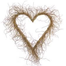 heart wreath willow heart wreath