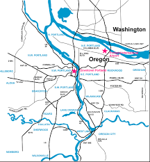 portland area maps and commute times