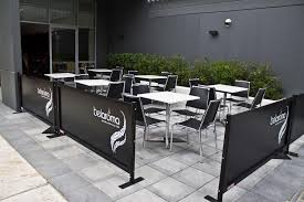White Metal Chairs Outdoor Classy Cafe Seating With Chrome Star Table Combined White Table