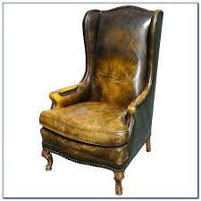 Best Leather Chair And Ottoman Leather Wing Chair And Ottoman Best Leather Chair Ideas On Leather