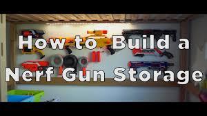 How to Build a Nerf Gun Storage