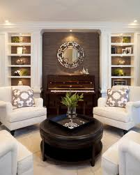Black And White Chair And Ottoman Design Ideas Living Room Black Leather Ottoman Coffee Table For Small Living