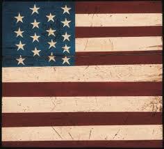 Colonial Flag American Folk Art Paintings By Warren Kimble