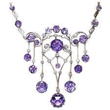 light purple necklace images 426 best edwardian pendants images diamond pendant jpg