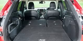 jeep wagoneer trunk jeep cherokee review carwow