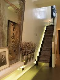 hall and stairs lighting hall and stair entry contemporary with twigs staircase lighting step