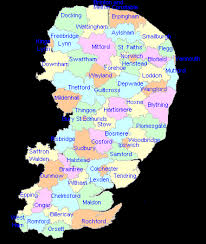 map of east uk eastern poor union map