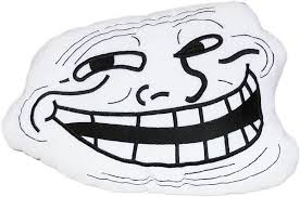 Cool Face Meme - moodrush trollface kissen meme shop troll rage face coolface