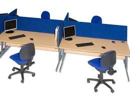 Office Desk Dividers Galaxy Desktop Office Desk Divider Screens From Rapid Office Furniture
