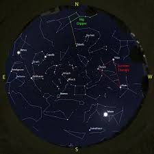 Night Sky Map Tonight Stargazing In Upstate Ny What To See In The Night Skies Aug 4 To