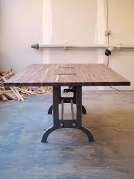 Vintage Conference Table Made Vintage Industrial Conference Table Or Dinning Table By