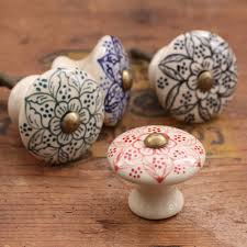 Door Handles  Impressive Ceramic Doordles Pictures Design Cream - Kitchen cabinet door handles uk