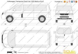 volkswagen van drawing the blueprints com vector drawing volkswagen transporter t5