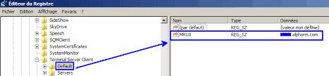 configurer bureau à distance windows 7 howto effacer l historique des connexions bureau à distance