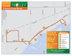 University Of Miami Map Trolleys The Free Transit Option You U0027re Probably Not Using The