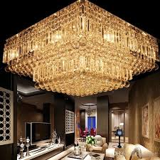 Chandeliers Lighting Fixtures Modern K9 Crystal Ceiling Chandelier Clear Crystal Lighting