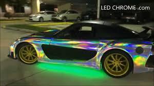 rainbow chrome lamborghini led chrome com the first color change chrome wrap in the world