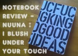 review nuuna notebook and bullet journal hack youtube