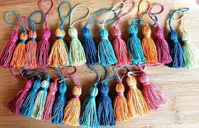 ttassel wholesale tassel 10 pcs cottontassels morocco style batik