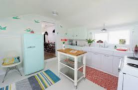 retro kitchen island black and white retro kitchen white finish wooden kitchen cabinet