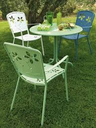 Old Metal Outdoor Furniture by Retro Metal Outdoor Furniture