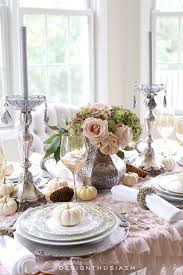 a soft vintage thanksgiving table holiday entertaining blog tour