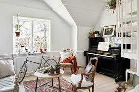 attic apartment ideas charming plant filled attic apartment in sweden e2 80 93 gravity