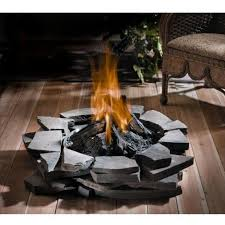 propane fire pit canada propane fire pit on deck deck design and ideas