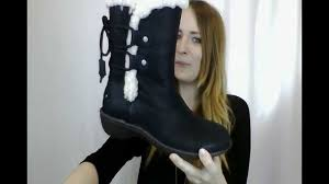 ugg s rianne boots black s ugg akadia boot available at peltzshoes com