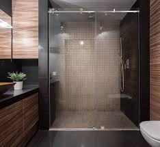 backyard and garden decor shower stall sliding glass doors