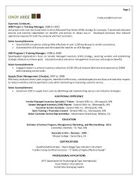 On Job Training Resume by Captivating Training Resume 68 On Best Resume Font With Training