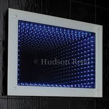 bathroom infinity mirror hudson reed lucio infinity led mirror 600mm x 800mm x 70mm