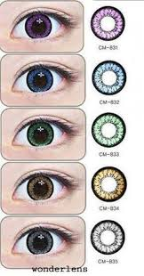 brown honey hazel chocolate circle lenses colored contact lens