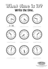 telling time half hour all worksheets telling time to the half hour worksheets