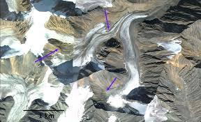sater glacier alaska not retaining snowcover from a glacier u0027s